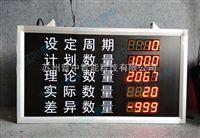 led工厂车间管理计数器显示屏电子看板计数电子看板